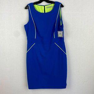 ANDREW MARC MARC NEW YORK Blue Dress NWT